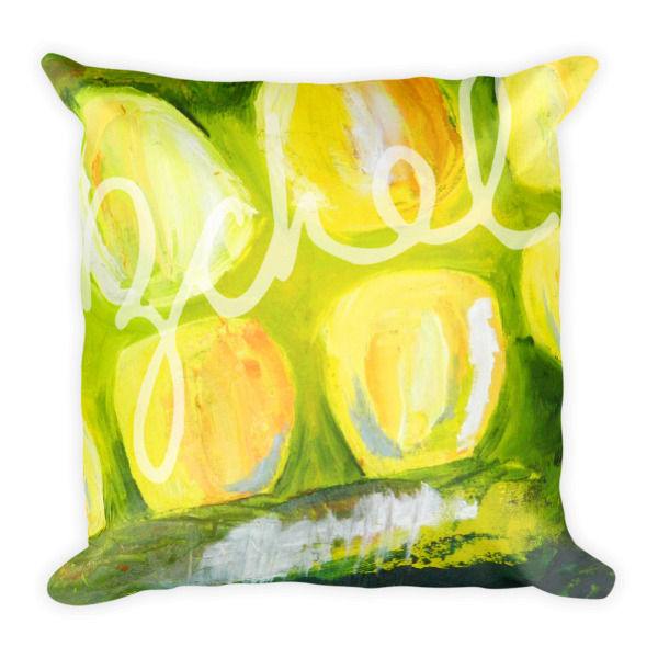 greeen pillow