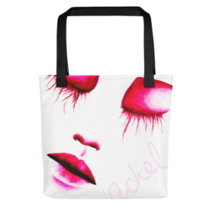 jellyfish eyes tote
